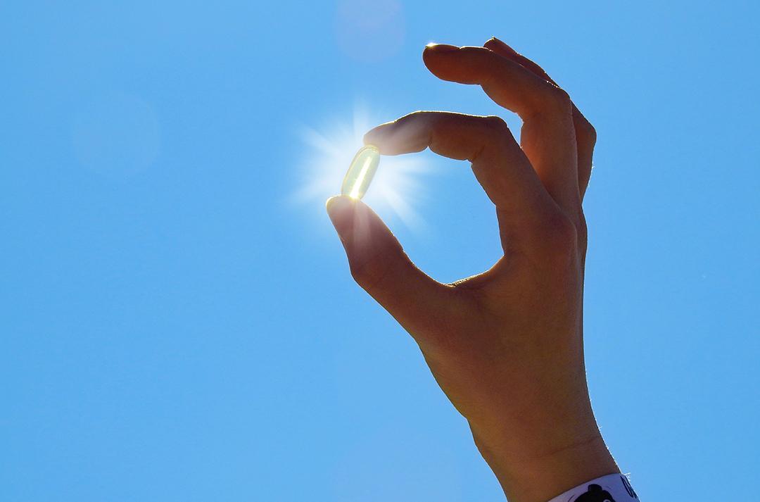 Il modo migliore per integrare la vitamina D è l'esposizione al sole.