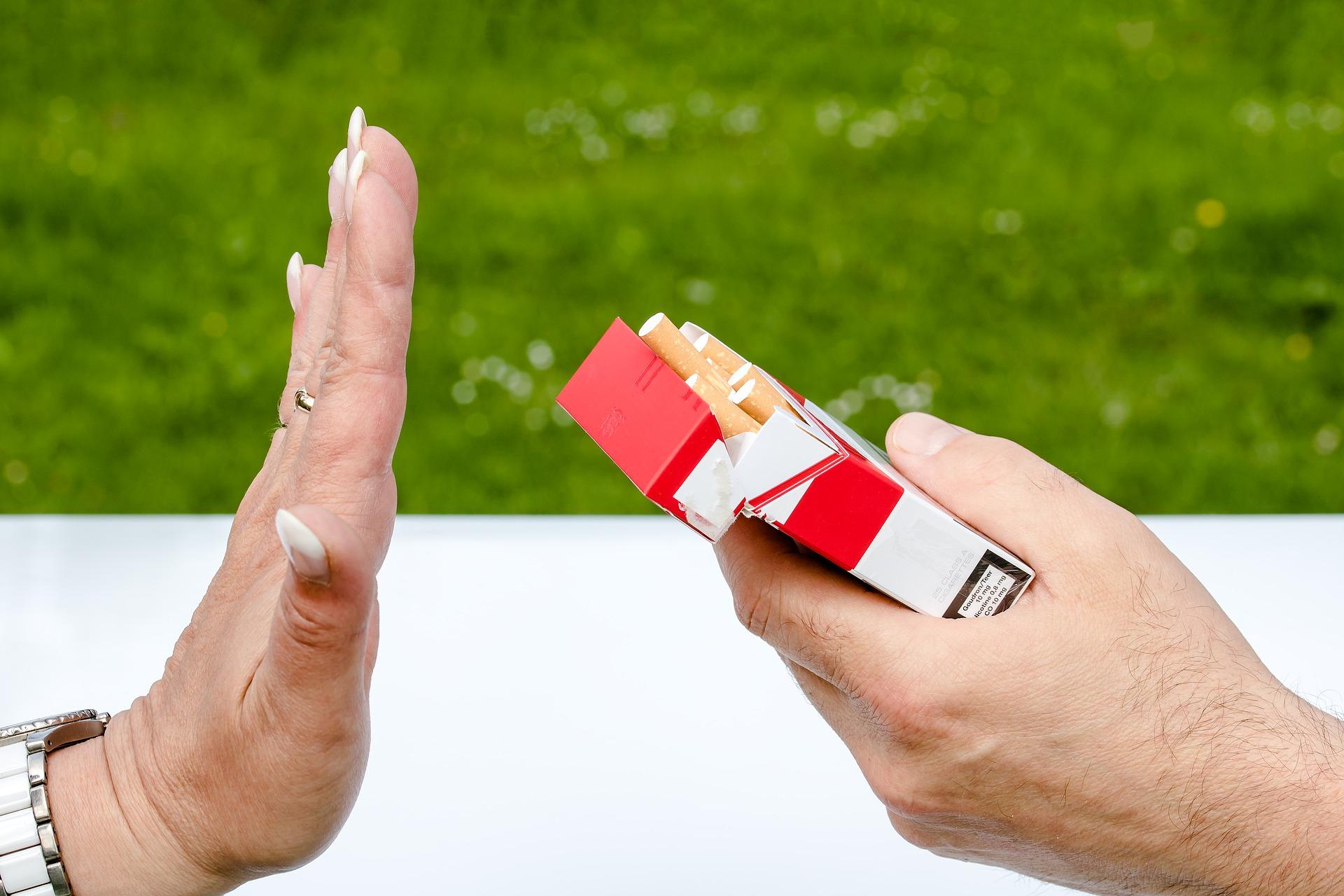Smettere di fumare, come dire basta